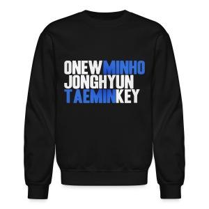 SHINee - Names - Crewneck Sweatshirt