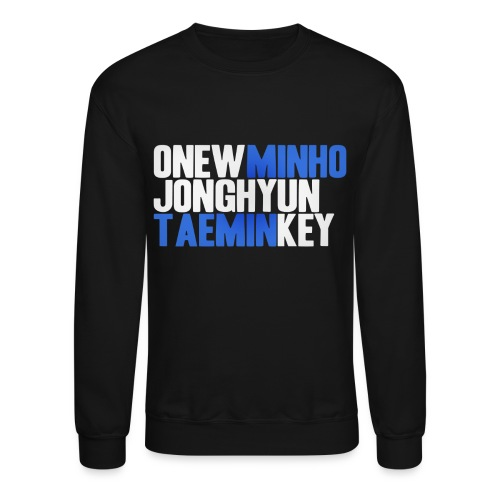 SHINee - Names - Crewneck Sweatshirt