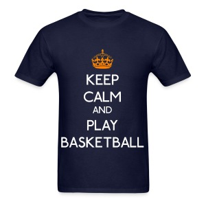 Keep Calm - Play Basketball - Men's T-Shirt