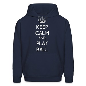Keep Calm - Play Ball - Men's Hoodie