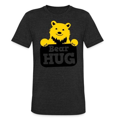 GRIZZLY BEAR HUG! - Unisex Tri-Blend T-Shirt