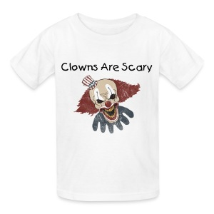 Clowns Are Scary - Kids' T-Shirt
