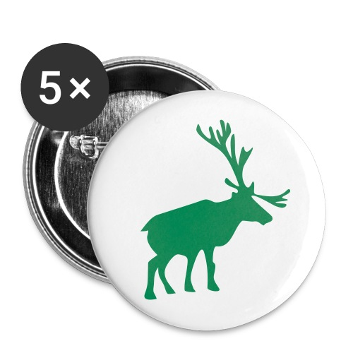 Reindeer Buttons - Large Buttons