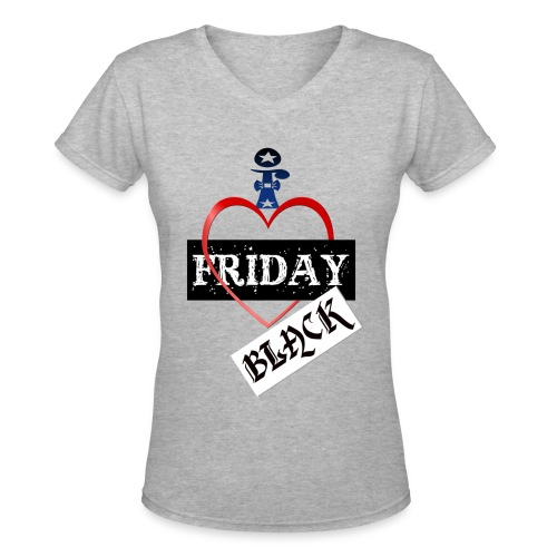 I Love Black Friday - Women's V-Neck T-Shirt