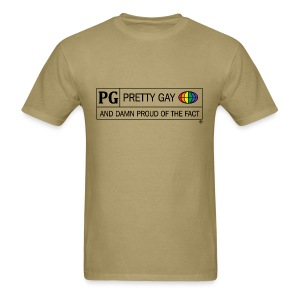 Homosexual Rating System: PG [M] - Men's T-Shirt