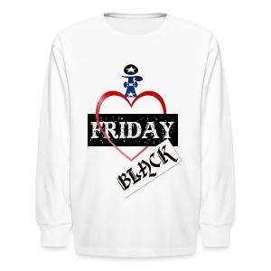 I Love Black Friday - Kids' Long Sleeve T-Shirt