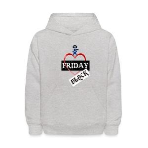I Love Black Friday - Kids' Hoodie