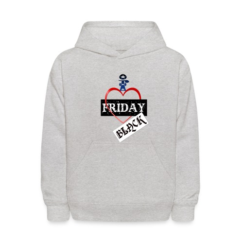 I Love Black Friday - Kids' Hoodie