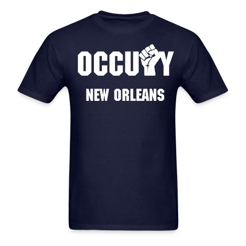 OCCUPY NEW ORLEANS - Men's T-Shirt