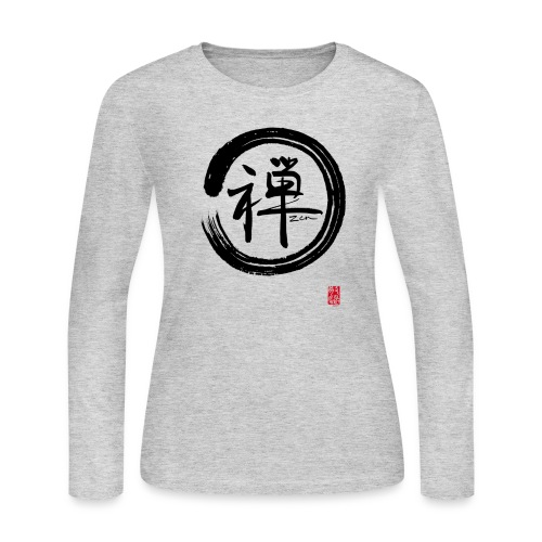 Women's Zen Long Sleeve T-Shirt - Women's Long Sleeve Jersey T-Shirt