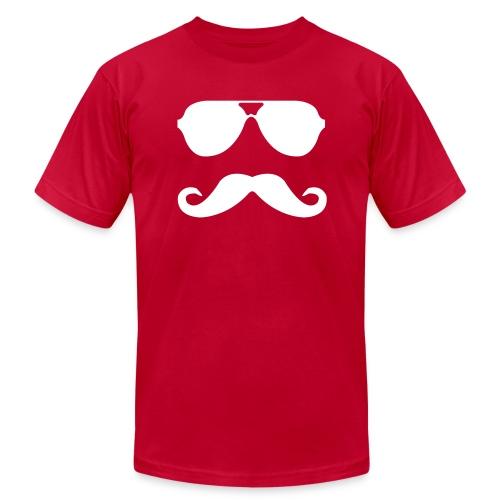 Mustache (Mens) - Men's  Jersey T-Shirt