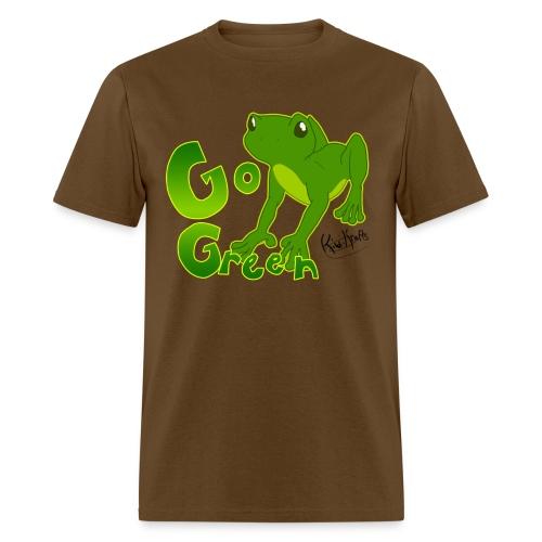 Go Green, Froggy! - Men's T-Shirt