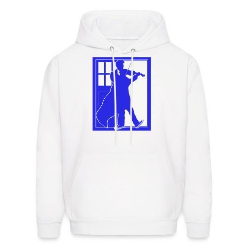 The Fiddling Doctor Blue Sweatshirt - Men's Hoodie