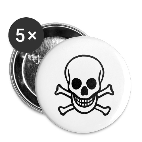 large skull button - Large Buttons