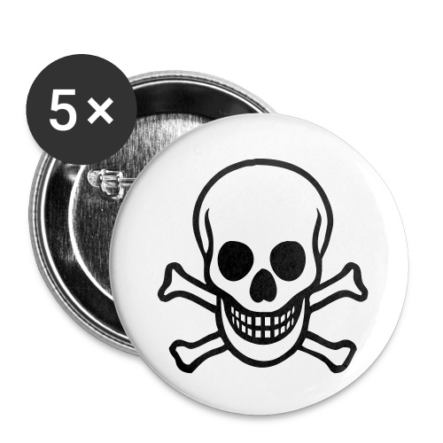 small skull button - Small Buttons