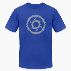 Bike Gear Silver Men's T-Shirts