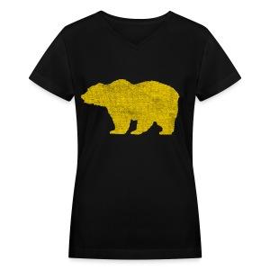 The Olde Bruin - Women's V-Neck T-Shirt