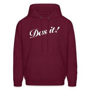Mens Das it! Hooded Sweatshirt  - Men's Hoodie