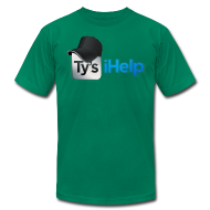 T-Shirts ~ Men's T-Shirt by American Apparel ~ Ty's iHelp
