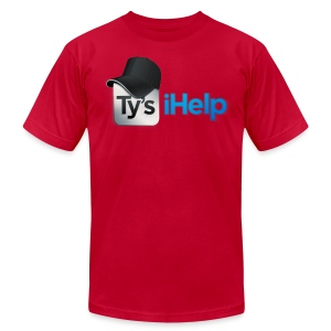 Ty's iHelp  - Men's T-Shirt by American Apparel