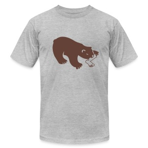 right to bear arms - Men's T-Shirt by American Apparel