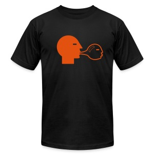self bubble - Men's T-Shirt by American Apparel