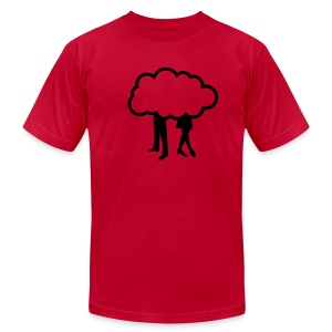 cloudy relationship - Men's Fine Jersey T-Shirt