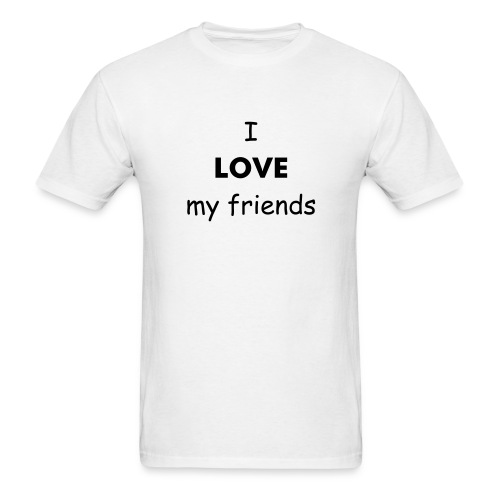 Love/Hate Friends - Men's T-Shirt
