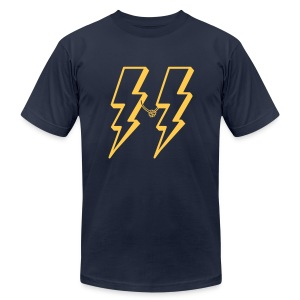 lightning friends - Men's T-Shirt by American Apparel