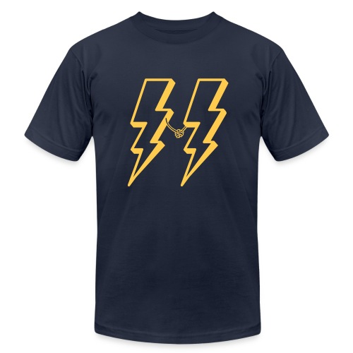 lightning friends - Men's Fine Jersey T-Shirt