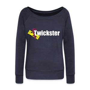 Twickster - Women's Wideneck Sweatshirt
