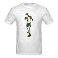T-Shirts ~ Men's T-Shirt ~ T-Shirley Men's Standard Weight T-Shirt with The Camouflage Boxer