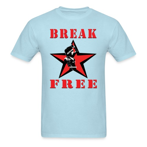 T-Shirley Men's  Break Free with Revolutionary Shirley Levi  - Men's T-Shirt