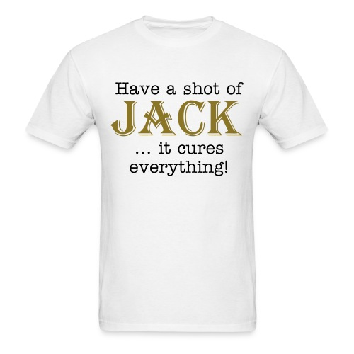 Jack Cures Everything - Men's T-Shirt