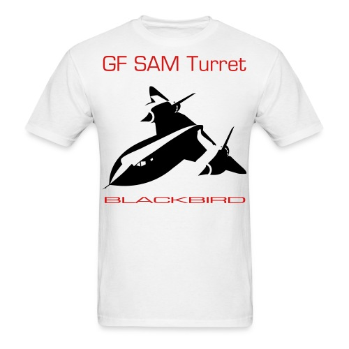 GF SAM Turret Blackbird - Men's T-Shirt