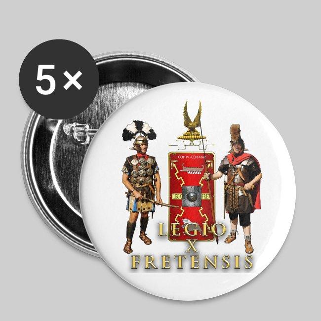 Legio X Fretensis Buttons - Small