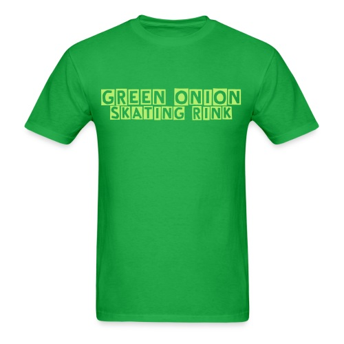 Green Onion Skating Rink - Men's T-Shirt