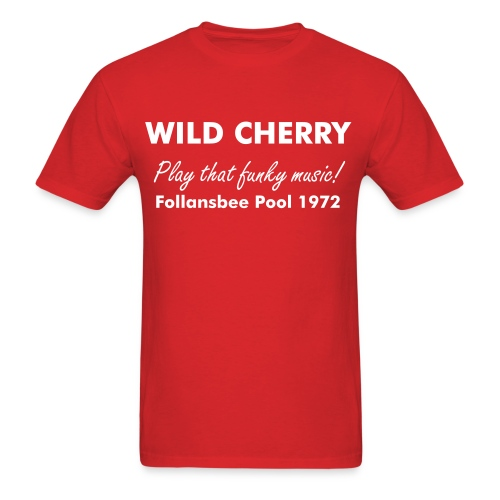 Wild Cherry - Men's T-Shirt