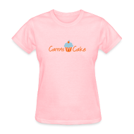 Women's T-Shirts ~ Women's T-Shirt ~ Carrots n Cake - Front & Back