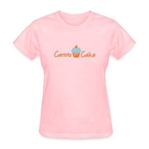 Carrots n Cake - Front & Back - Women's T-Shirt