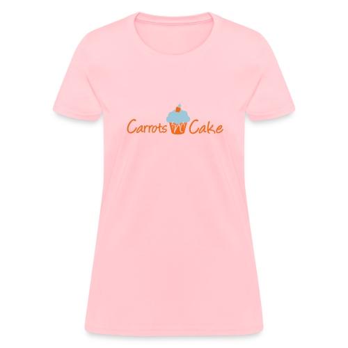 Carrots n Cake - Front & Back - Women's T-Shirt