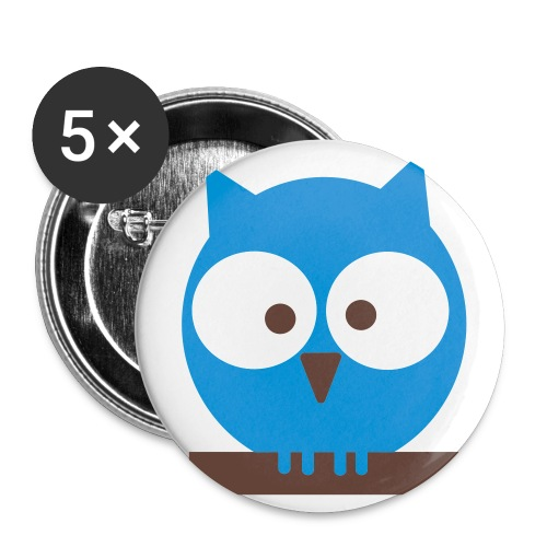 Give A Hoot - Buttons small 1'' (5-pack)