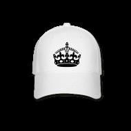 Sportswear ~ Baseball Cap ~ Keep Calm and Carry On Crown