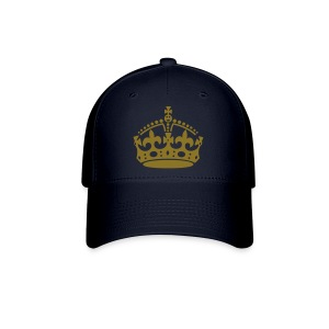 Keep Calm and Carry On Crown - Baseball Cap