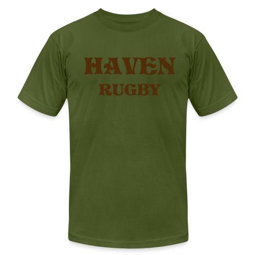 Olive/chocolate Haven - Men's Fine Jersey T-Shirt