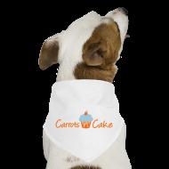 Other ~ Dog Bandana ~ Carrots 'n' Cake