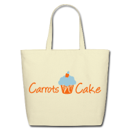 Bags & backpacks ~ Eco-Friendly Cotton Tote ~ Carrots 'n' Cake