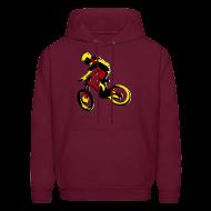 Hoodies ~ Men's Hoodie ~ Mountain Bike Hoodie - What's Up Dawg?