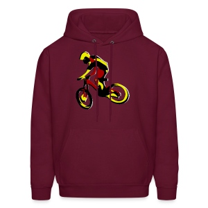 Mountain Bike Hoodie - What's Up Dawg? - Men's Hoodie