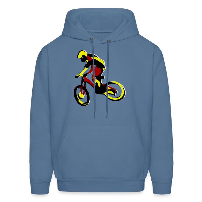 Mountain Bike Hoodie - What's Up Dawg?